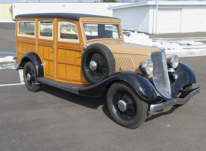 1933 Ford Woodie Wagon