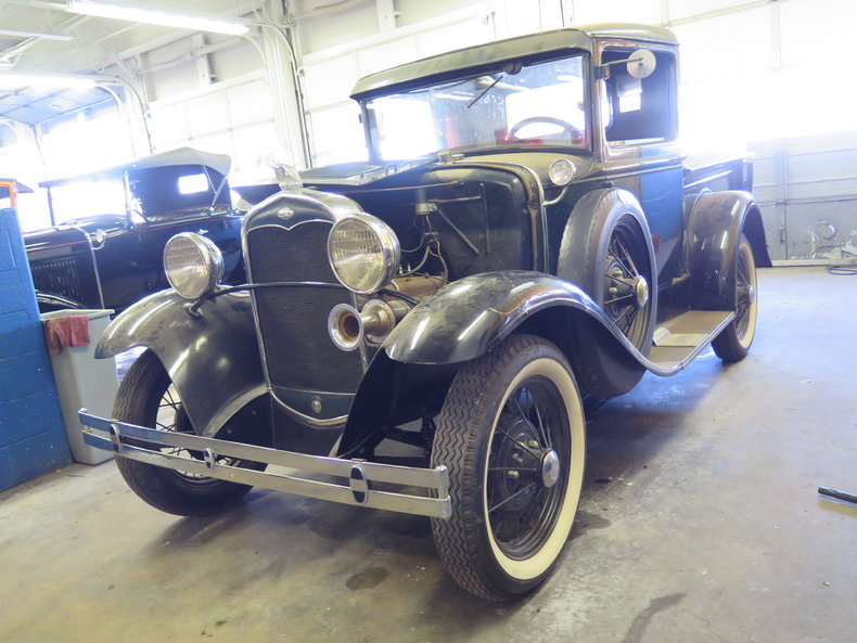 1931 Ford Model A Pickup Barn Find