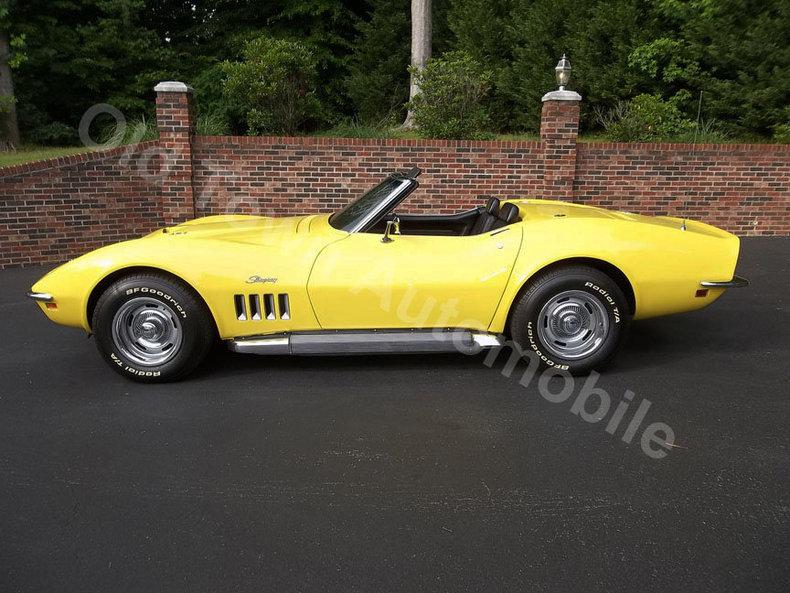 1969 1969 Chevrolet Corvette Roadster For Sale