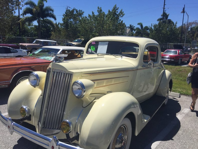 1937 packard 110 business coupe premier auction for 1937 packard 3 window coupe