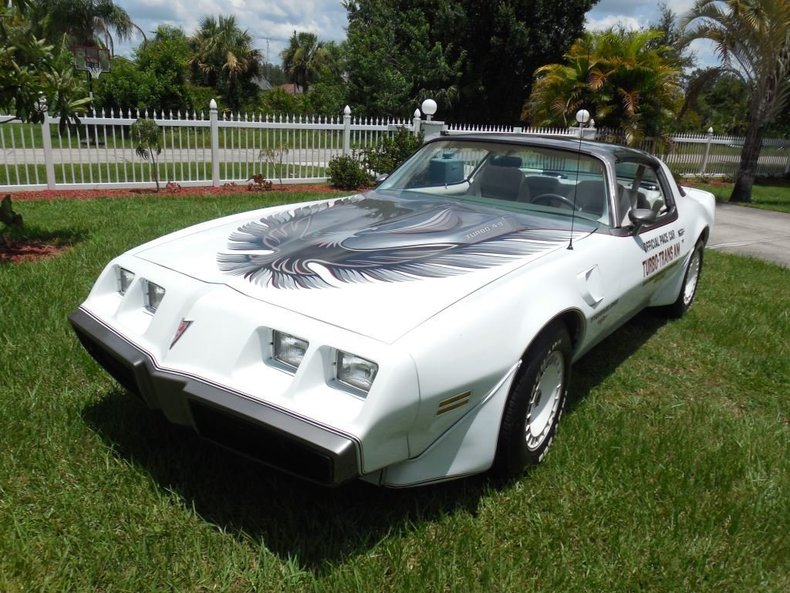 1980 Pontiac Trans Am Indy Pace Car