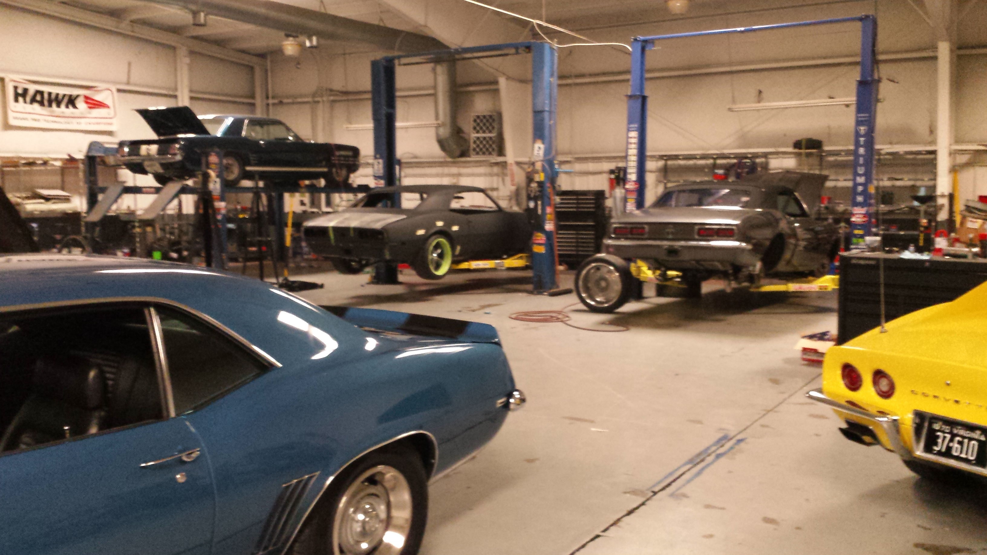 Classic Car Restoration West Virginia | Quarter Mile Muscle Inc.