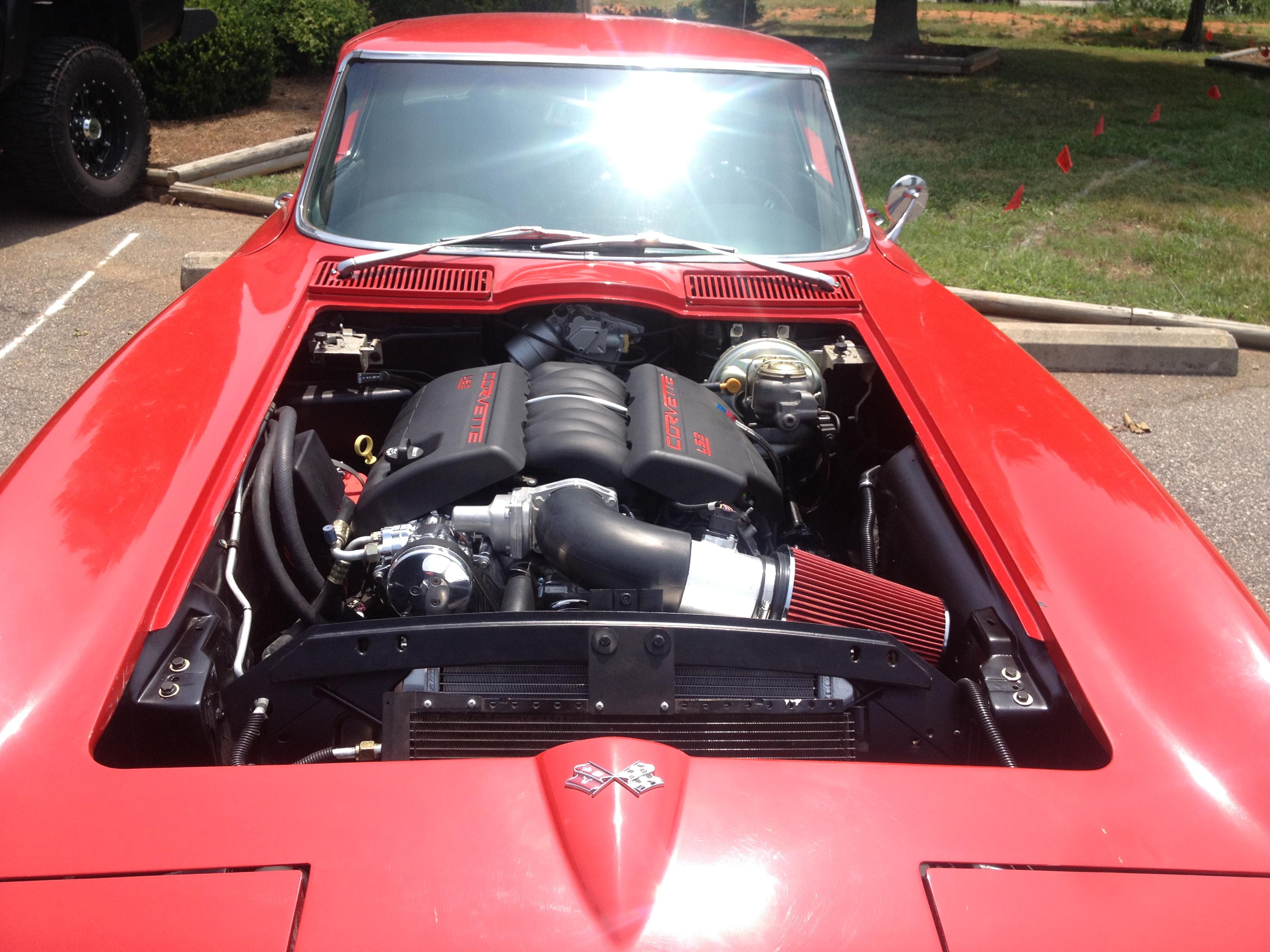 Resto-mod Corvette