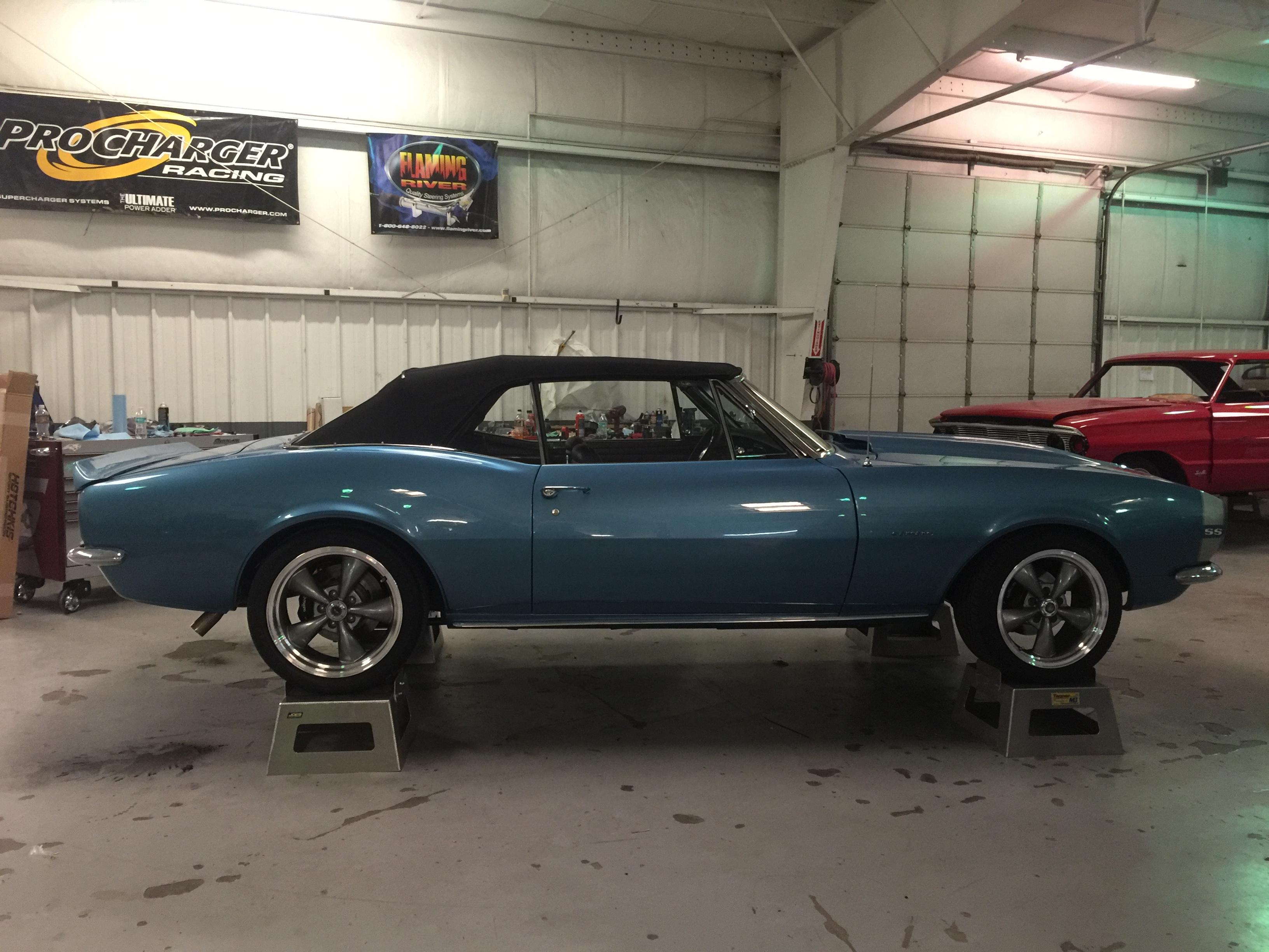 1967 Camaro project