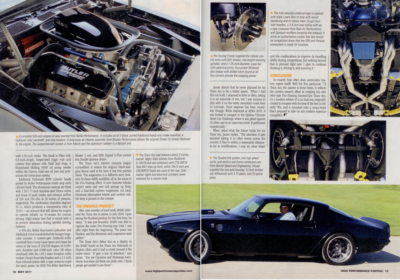 73 Ta Radical Rebirth Restore A Muscle Car Llc March Serpentine Pontiac Go Back To List