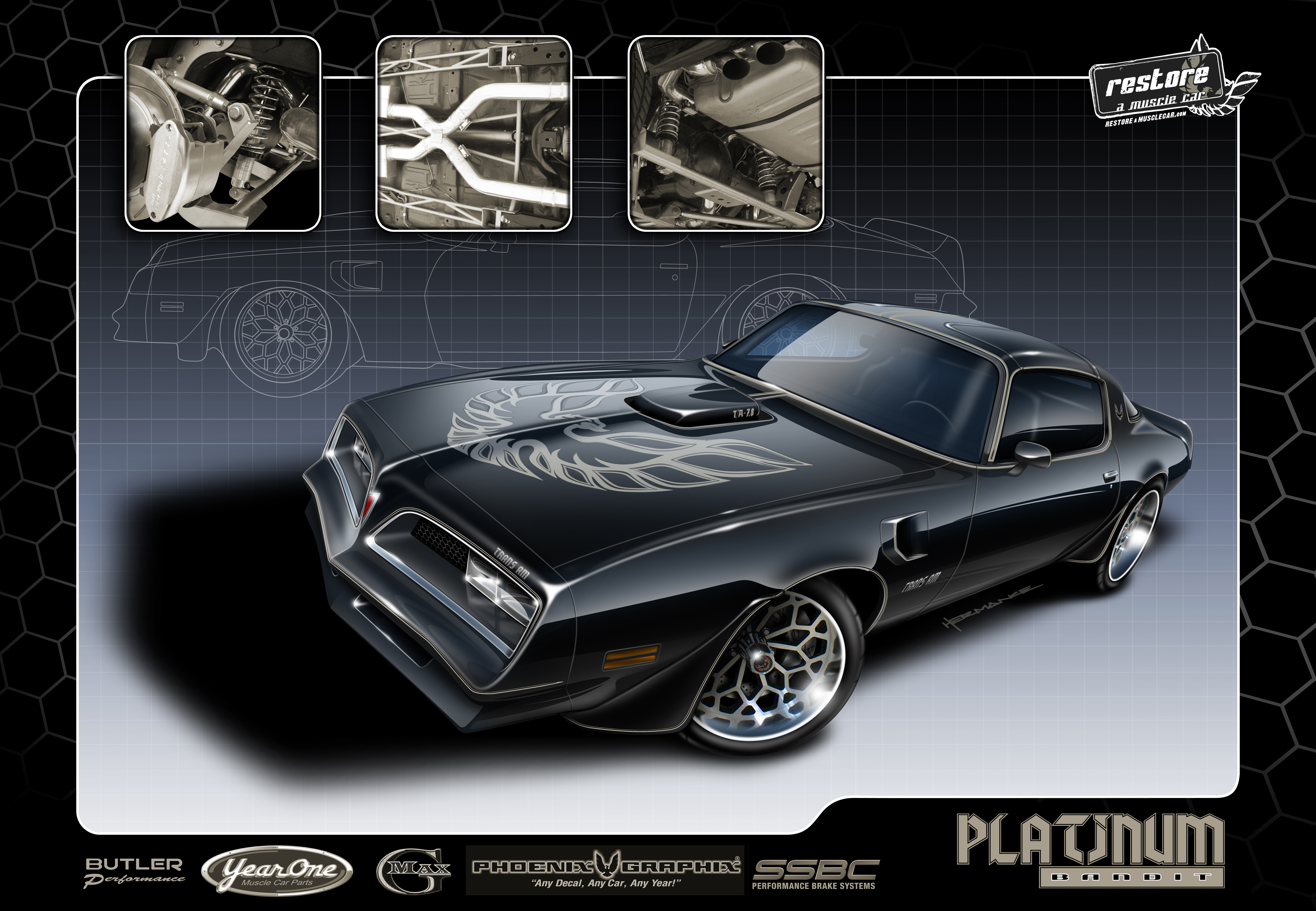 Platinum 1977-1981 Trans Am Decals Available for Purchase! | Restore ...