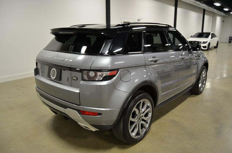 2012 2012 Land Rover Range Rover Evoque For Sale