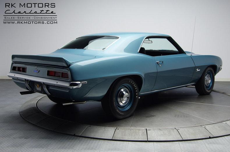 1969 Chevrolet Camaro Rk Motors