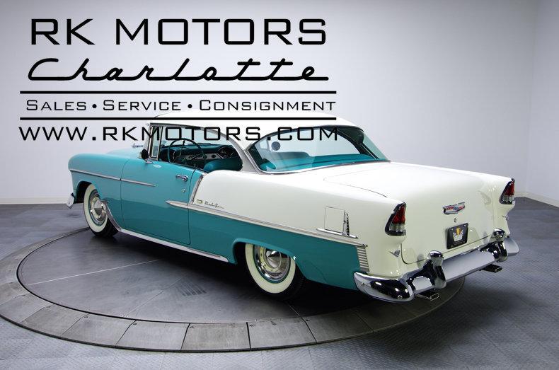 Rk Motors Charlotte Inventory >> 1955 Chevrolet Bel Air   RK Motors