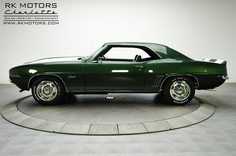 Rk Motors Charlotte Inventory >> 132516 1969 Chevrolet Camaro   RK Motors