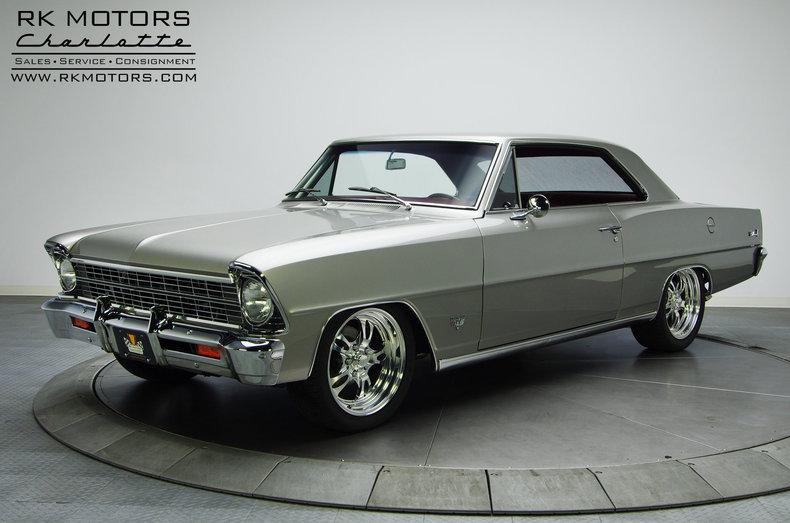 Rk Motors Charlotte Inventory >> 132593 1967 Chevrolet Nova | RK Motors
