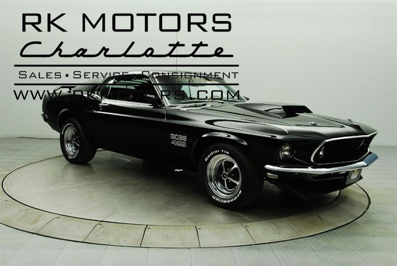 1969 Ford Mustang Rk Motors