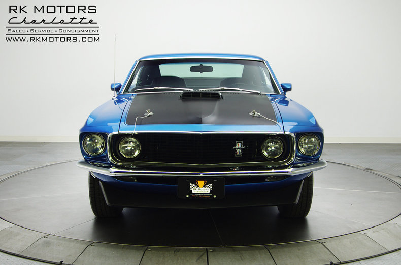 132628 1969 Ford Mustang Rk Motors