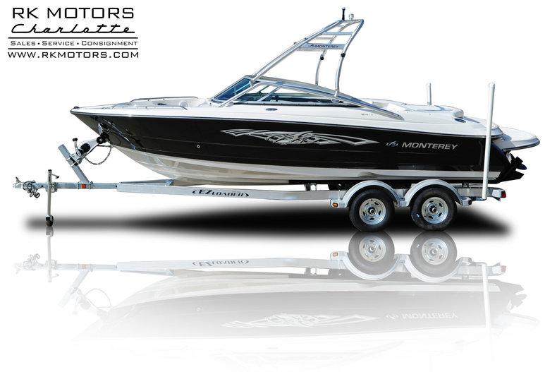 2008 Monterey 214FS Sport Boat