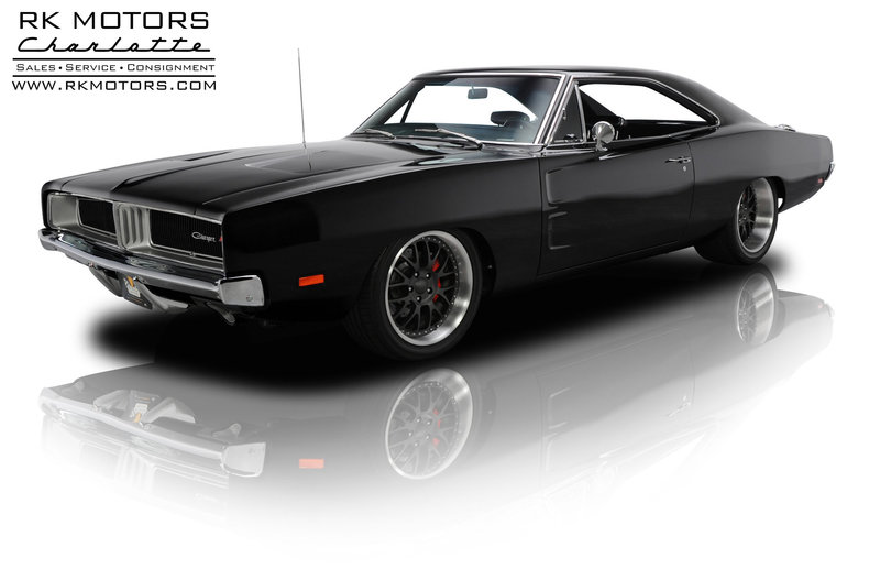 Dodge Challenger 1969 Black >> 133226 1969 Dodge Charger Rk Motors