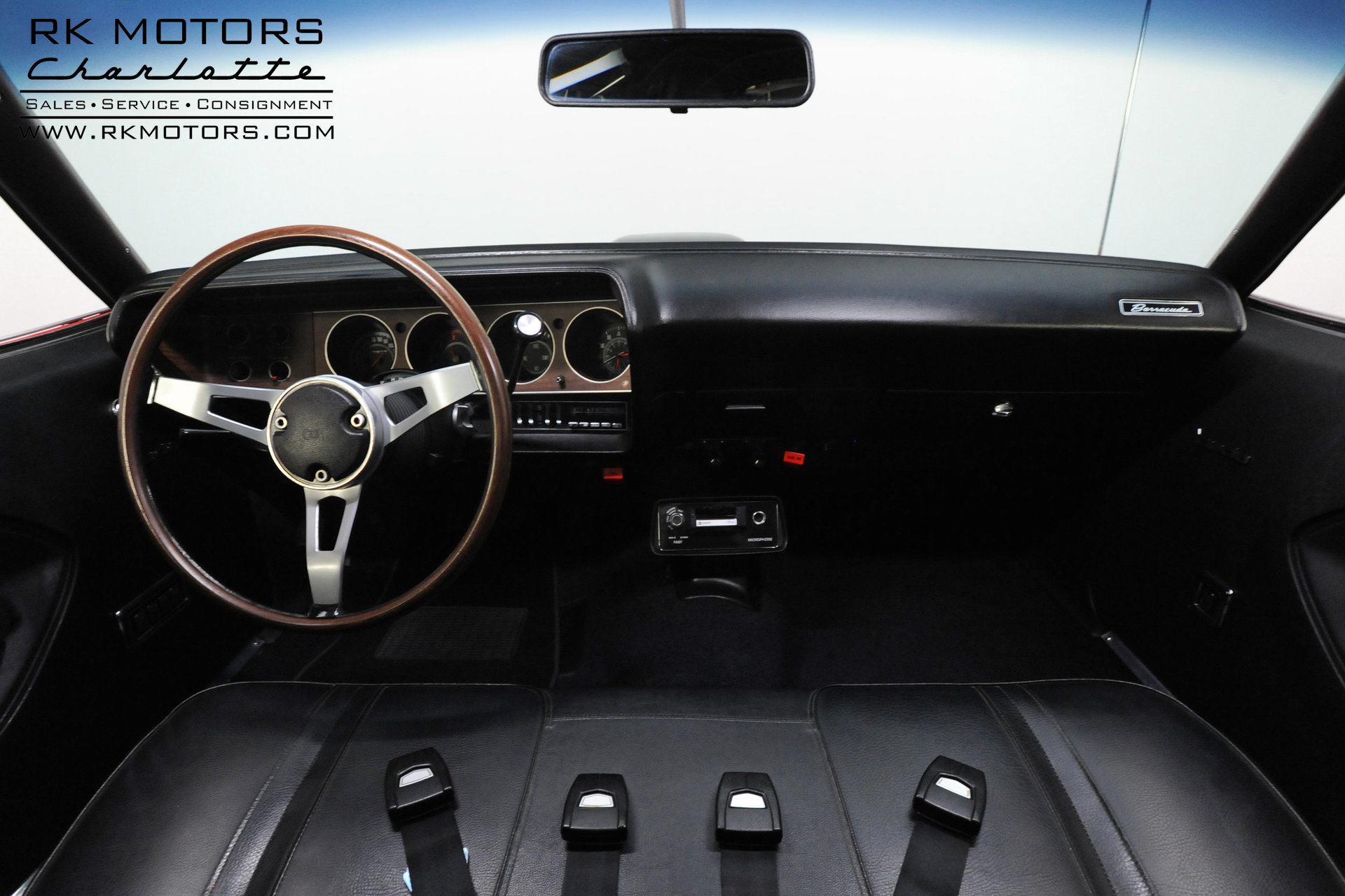 71 cuda interior pictures Gallery: The AMD Installation Center Classic Muscle Metal