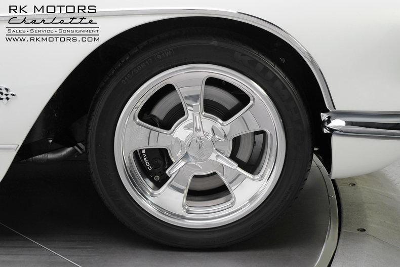 1960 Chevrolet Corvette Rk Motors