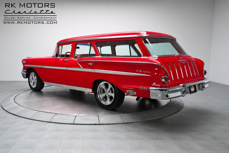 134151 1958 Chevrolet Nomad Rk Motors