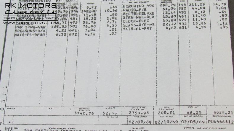 134257 1969 pontiac firebird