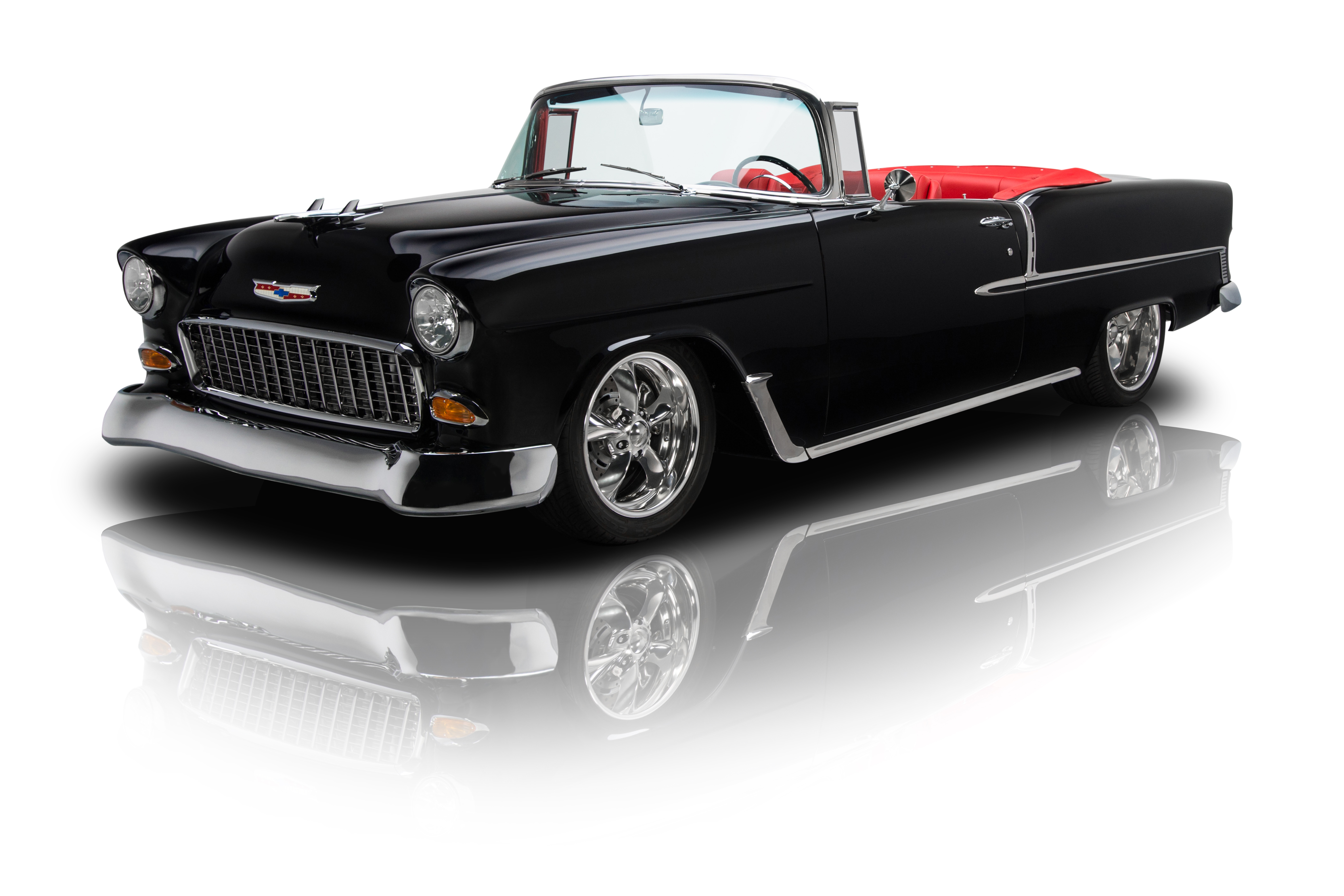 134674 1955 chevrolet bel air rk motors. Black Bedroom Furniture Sets. Home Design Ideas