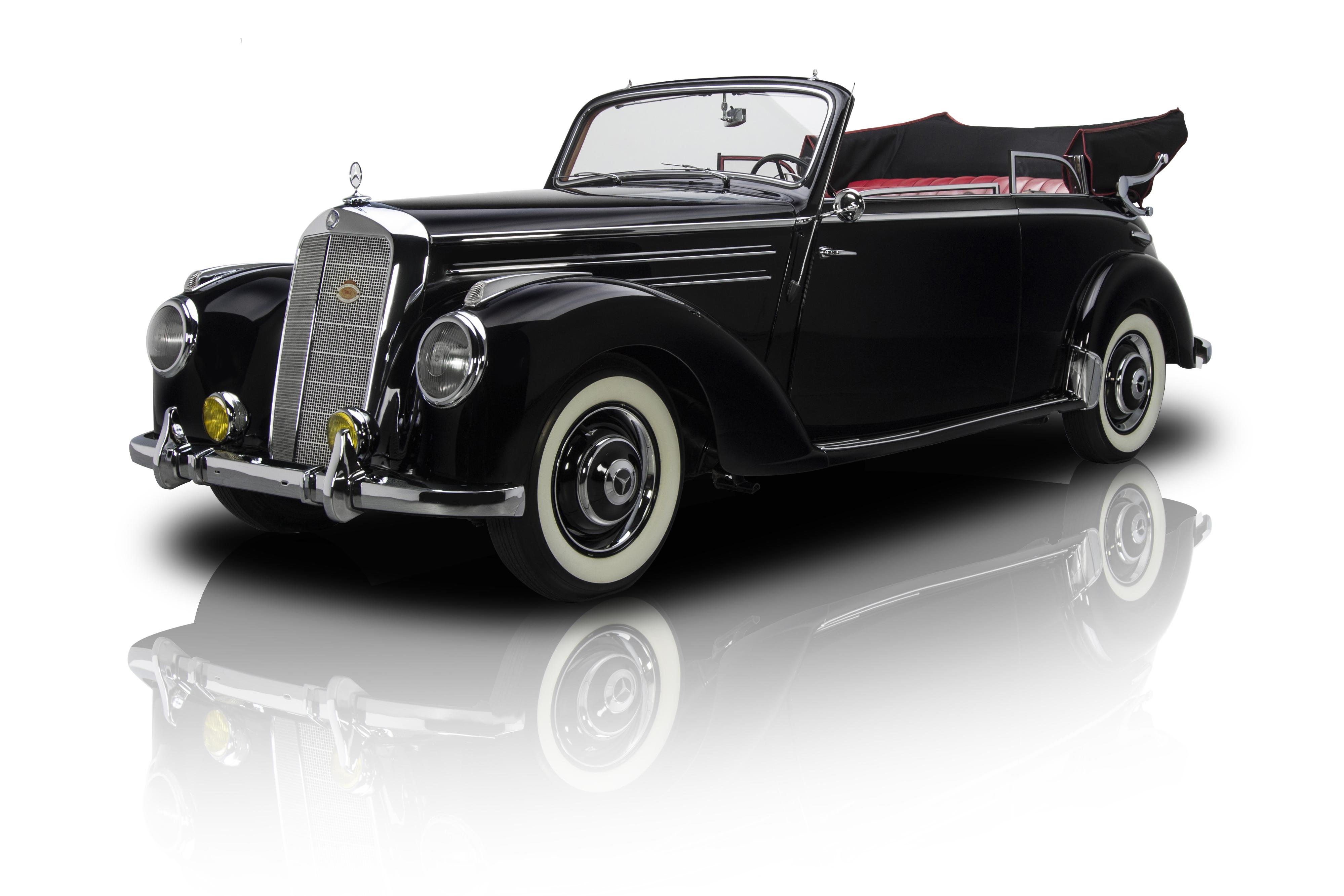 134698 1952 mercedes benz 220 rk motors for 1952 mercedes benz