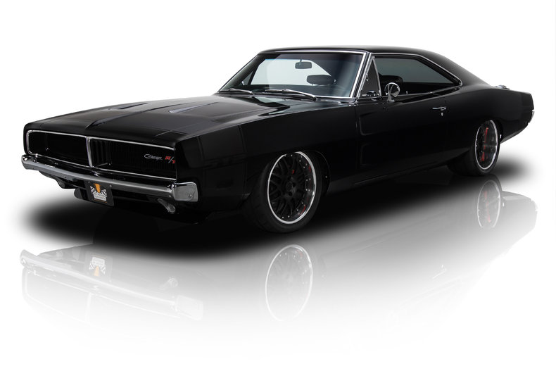 Dodge Challenger 1969 Black >> 134977 1969 Dodge Charger Rk Motors