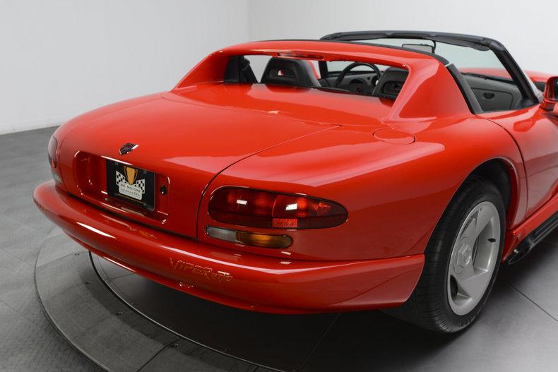 135087 1994 dodge viper rk motors. Black Bedroom Furniture Sets. Home Design Ideas