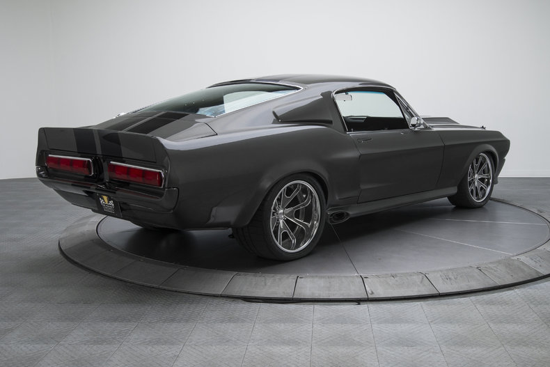 1967 Ford Mustang Eleanor Gt on car rotisserie kit