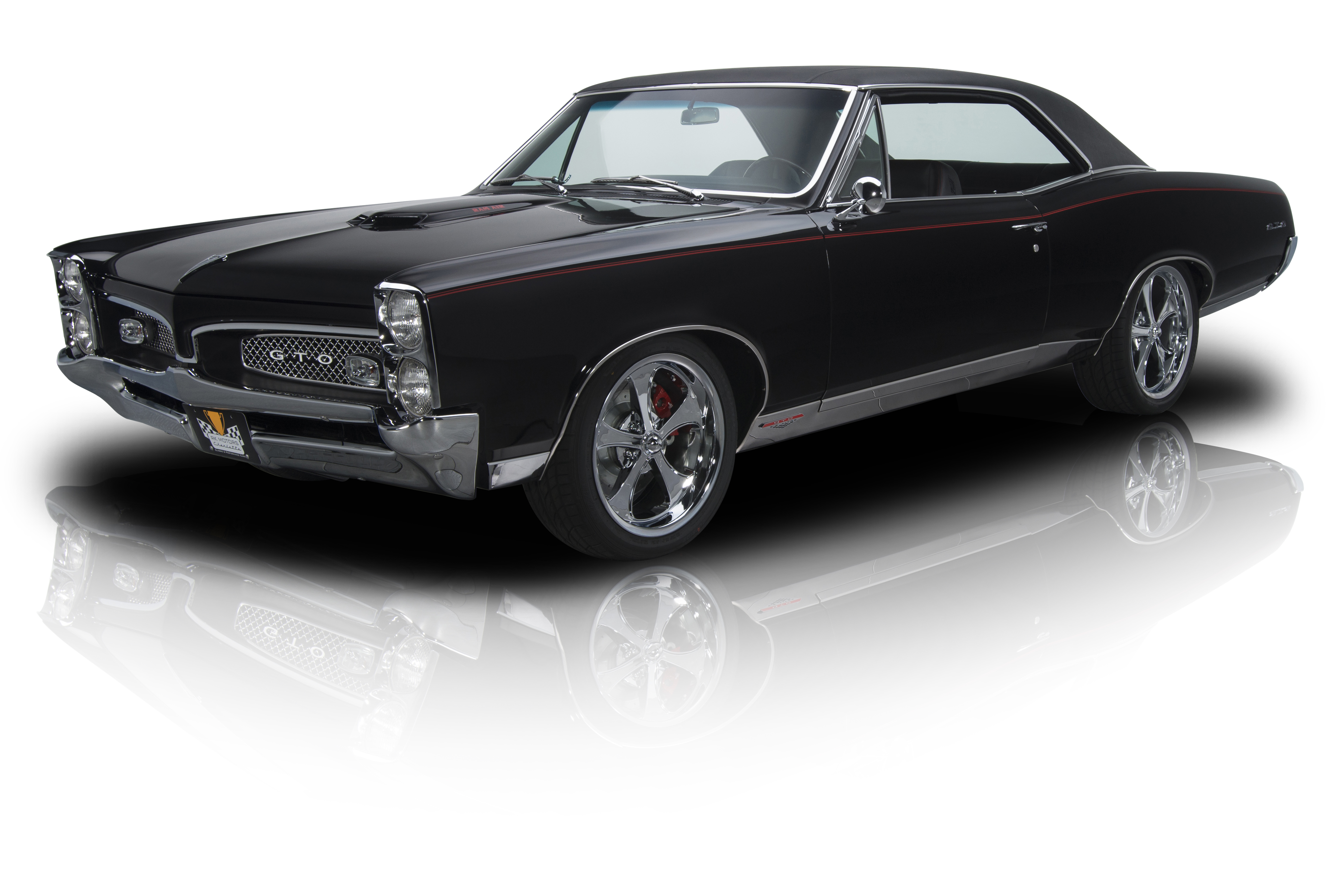 135838 1967 pontiac gto rk motors. Black Bedroom Furniture Sets. Home Design Ideas