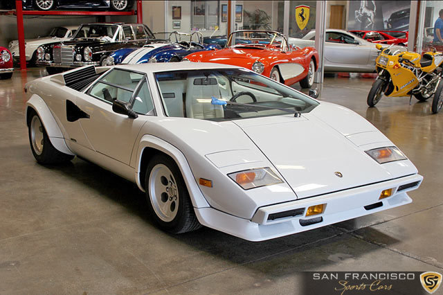 1984 lamborghini countach 5000s san francisco sports cars buy sell and store exotic and. Black Bedroom Furniture Sets. Home Design Ideas