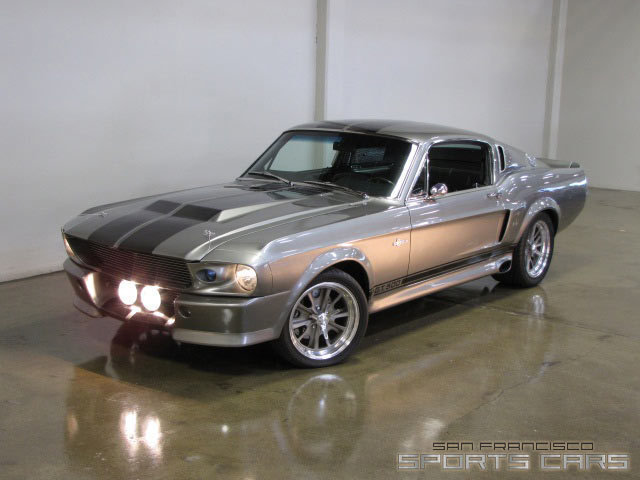 1967 Shelby Mustang Gt500 Eleanor San Francisco Sports Cars