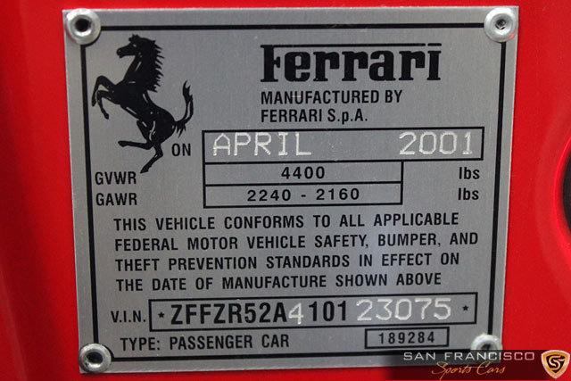 2001 2001 Ferrari 550 Barchetta For Sale