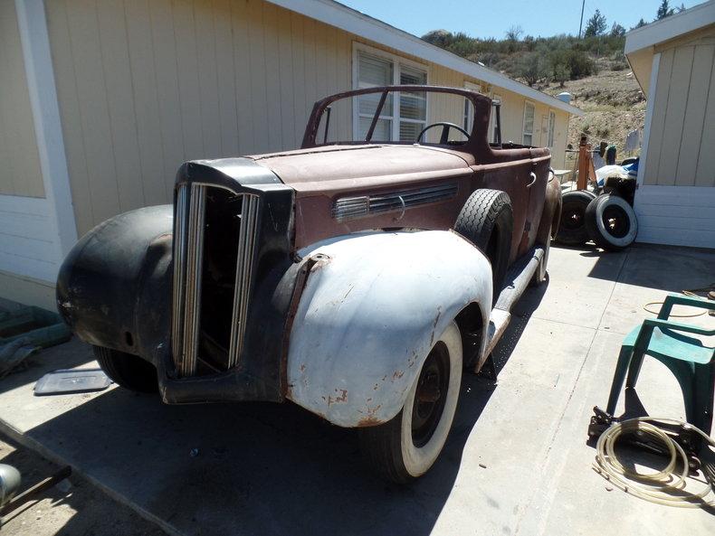 1938 Packard Convertible Sedan