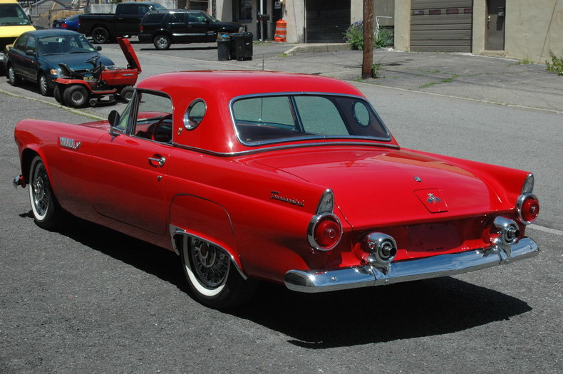 1955 ford thunderbird my classic garage. Black Bedroom Furniture Sets. Home Design Ideas