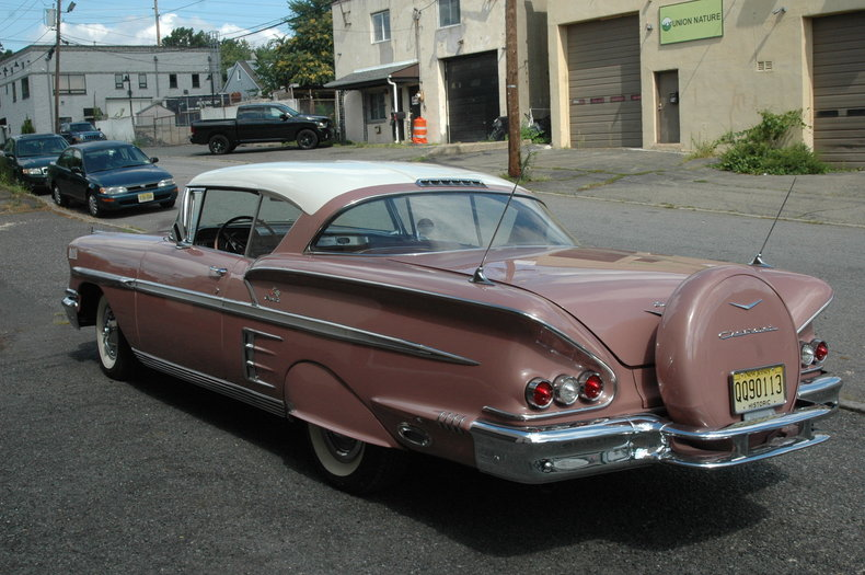1958 Chevrolet Impala Silverstone Motorcars