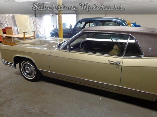 1970 lincoln continental silverstone motorcars. Black Bedroom Furniture Sets. Home Design Ideas