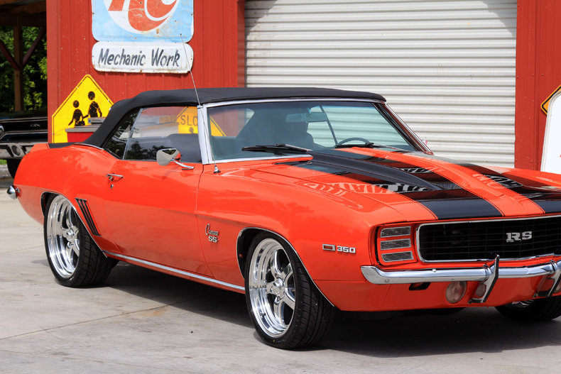 1969 Chevrolet Camaro Classic Cars Amp Muscle Cars For Sale In Knoxville Tn