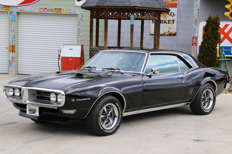 1968 Pontiac Firebird  Classic Cars  Muscle Cars For Sale in