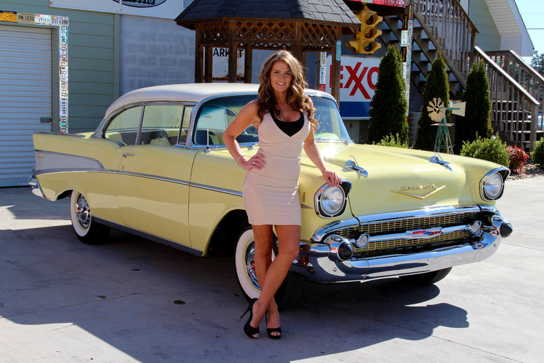 1957 Chevrolet Bel Air  Classic Cars  Muscle Cars For Sale in