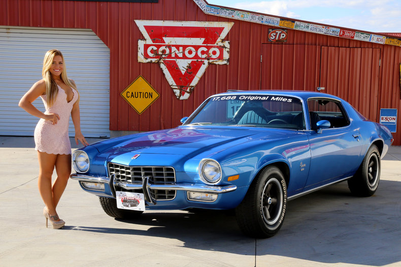 Chevrolet Camaro Classic Cars Muscle Cars For Sale In