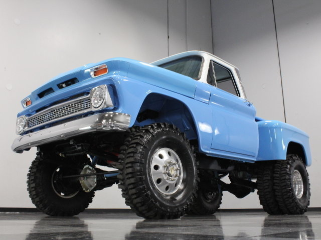 """468 CI Heavy Duty Dually Conversion w 38"""" Tires PS PB Front Disc Show N Go"""