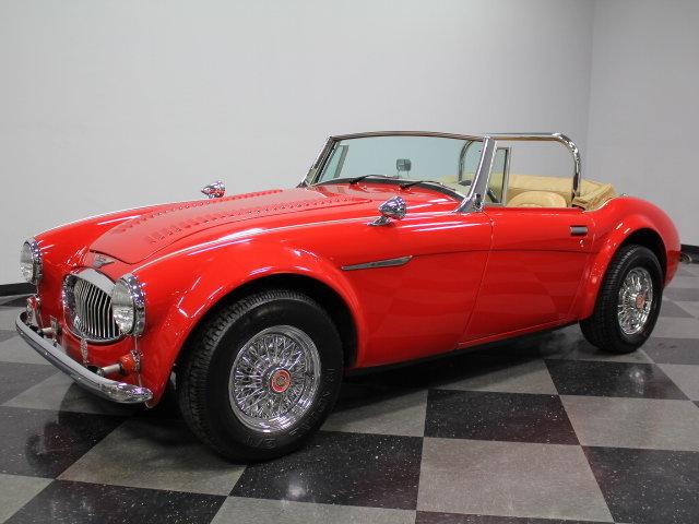 1962 Austin Healey 3000 Mark III
