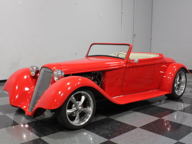 1933 Plymouth Roadster