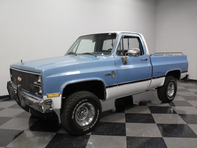 1984 Chevrolet K-10