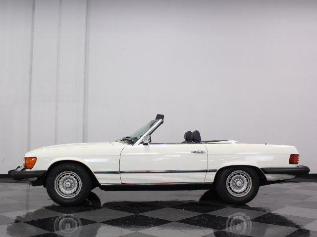 1984 mercedes benz 380sl streetside classics the for Mercedes benz of dallas fort worth