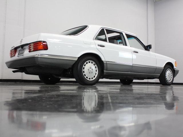 1988 mercedes benz 420sel streetside classics the for Mercedes benz of dallas fort worth