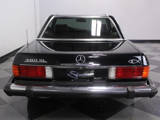 1983 mercedes benz 380sl streetside classics the for Mercedes benz of dallas fort worth