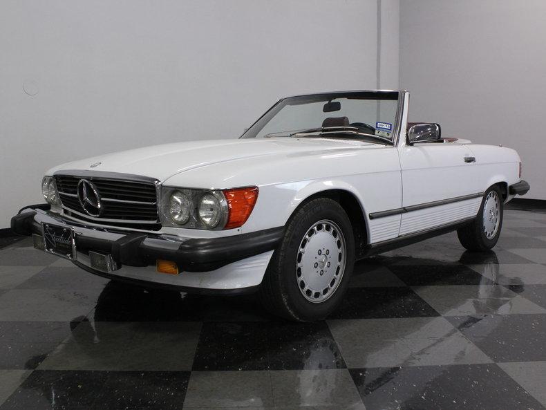 1989 mercedes benz 560sl streetside classics the for Mercedes benz of dallas fort worth