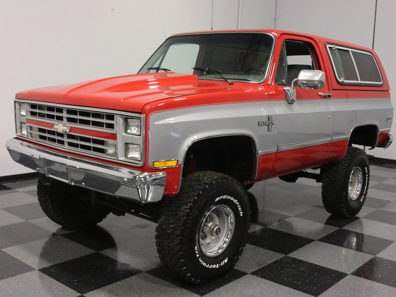 chevrolet v8 trucks 1981 1987 with 1985 Chevrolet Blazer K5 on 936701 Voltage Regulator Problems further 1978 Chevy C20 Simple Wiring Diagram To Motor Pictures as well Custom 4x4 Lifted Truck further 1967 Ford Mustang Pictures C6 together with 1965 C10 Short Bed Wiring Diagrams.