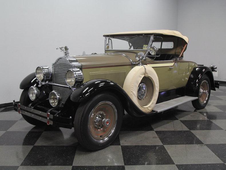1928 Packard 526 Runabout